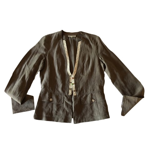 Blouse ARMAND VENTILO Marron