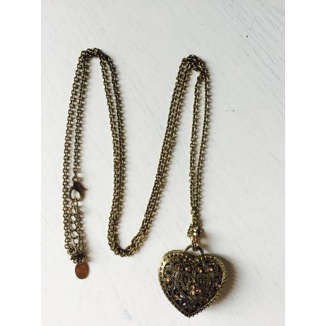 Pendentif, collier pendentif ACCESSORIZE Doré, bronze, cuivre