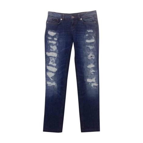 Jeans slim D&G Bleu, bleu marine, bleu turquoise