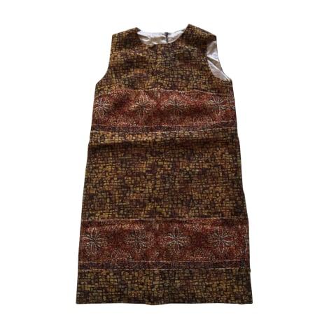 Robe courte DOLCE & GABBANA Multicouleur