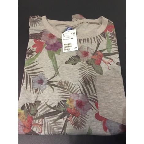 T-shirt H&M Gray, charcoal