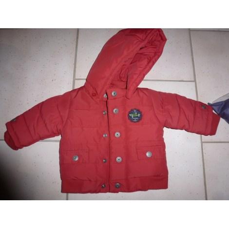 Manteau JACADI Rouge, bordeaux