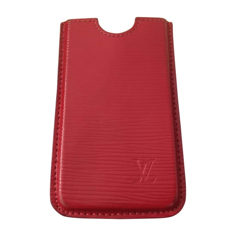Etui iPhone  LOUIS VUITTON Rouge, bordeaux