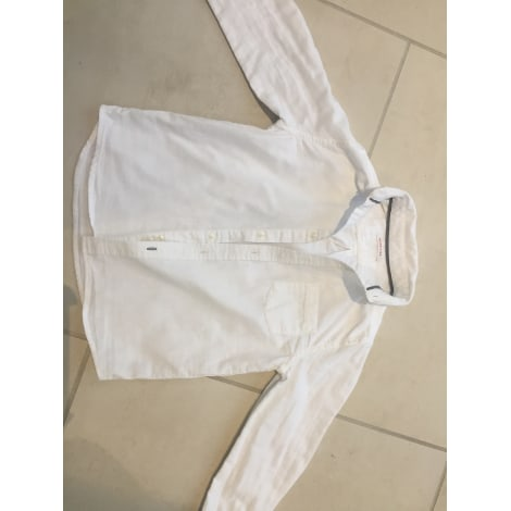 Chemise MONOPRIX Blanc, blanc cassé, écru