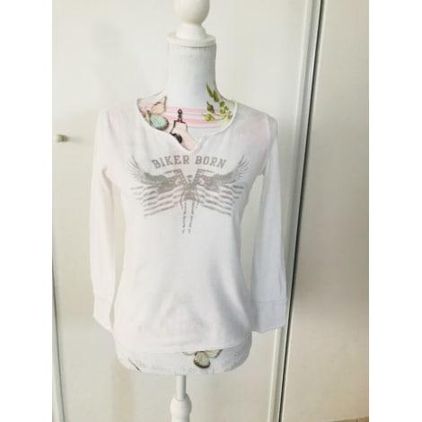 Tee-shirt ZADIG & VOLTAIRE Blanc, blanc cassé, écru
