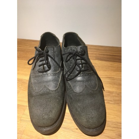 Chaussures à lacets HESCHUNG Gris, anthracite