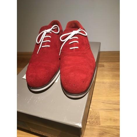 Chaussures à lacets MONDERER Rouge, bordeaux