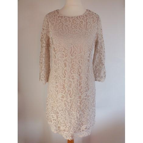 Robe courte H&M Rose, fuschia, vieux rose