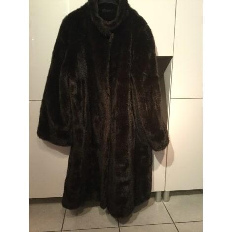 Manteau en fourrure LIBRE COURS Marron