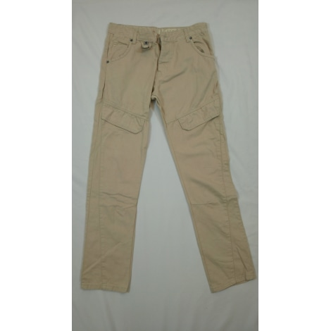 Pantalon droit CROSS HATCH Beige, camel