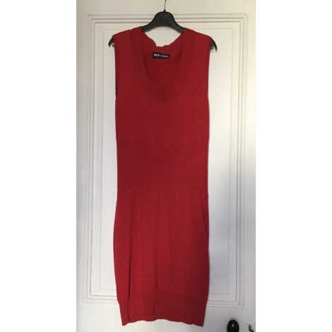 Robe pull WHO'S WHO Rouge, bordeaux