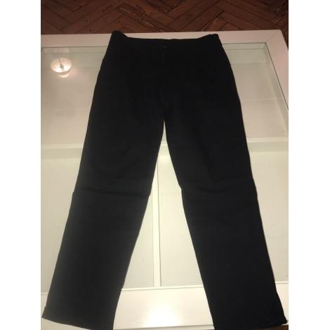 Pantalon droit CAMAIEU Noir