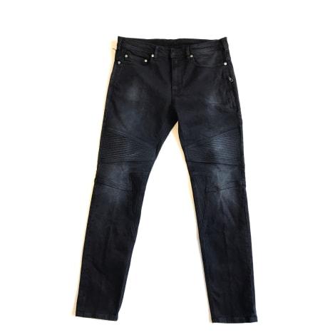 Jeans slim NEIL BARRETT Noir