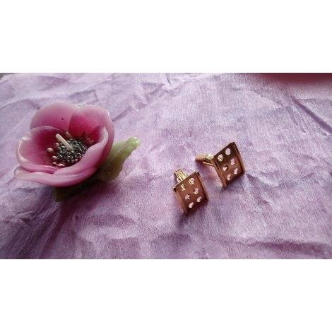 Cufflinks MARQUE INCONNUE Golden, bronze, copper