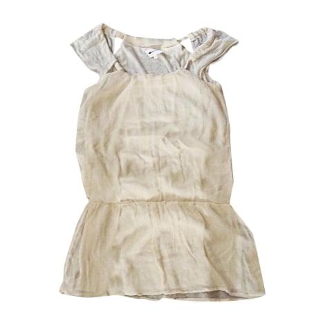 Robe courte VANESSA BRUNO Blanc, blanc cassé, écru