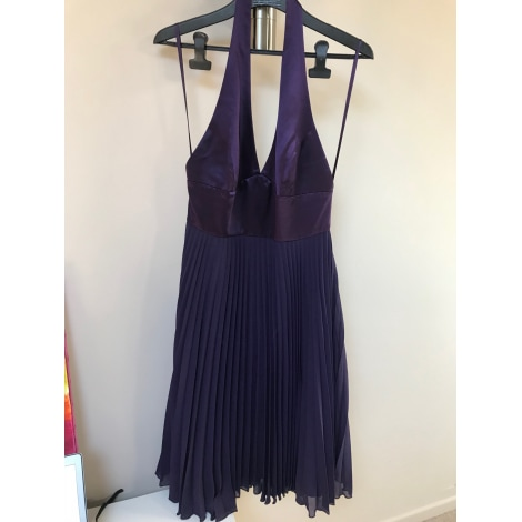 Robe dos nu ALAIN MANOUKIAN Violet, mauve, lavande