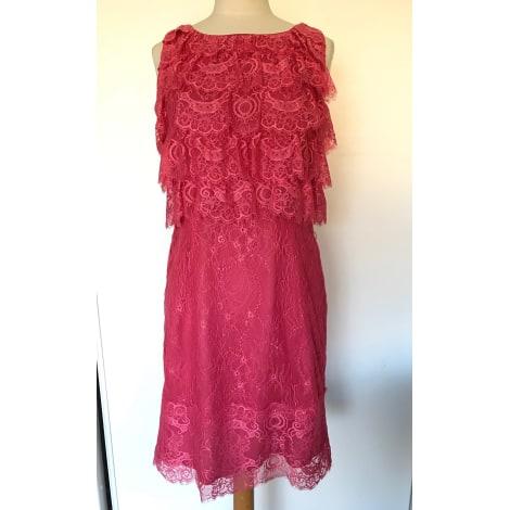 Robe courte SINÉQUANONE Rose, fuschia, vieux rose