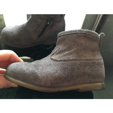 Ankle Boots POM D'API Gray, charcoal
