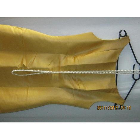 Robe longue INCONNU Jaune