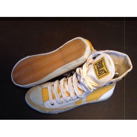 Baskets EVERLAST Blanc et jaune