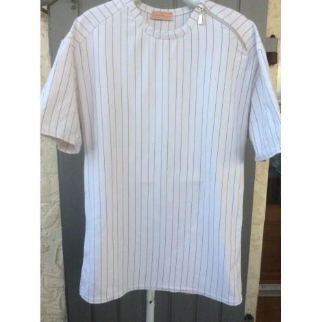 Tee-shirt UNITED PEOPLE Blanc, blanc cassé, écru