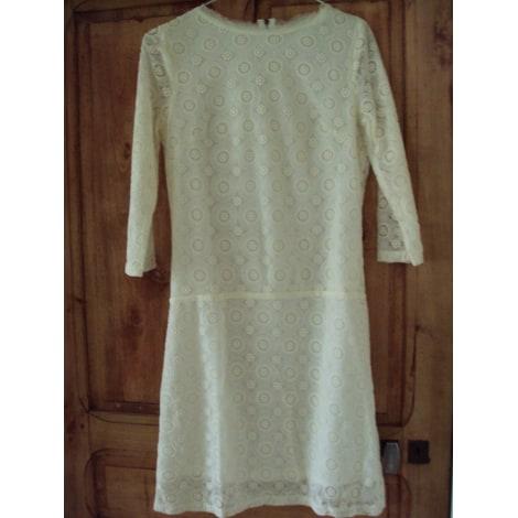 Robe mi-longue SOFT GREY Blanc, blanc cassé, écru