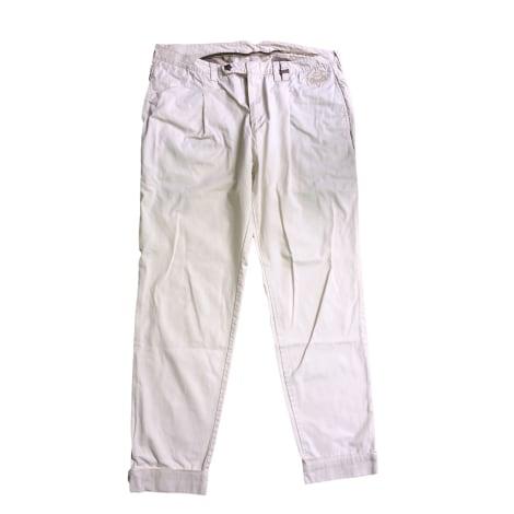 Pantalon droit DIESEL Beige, camel
