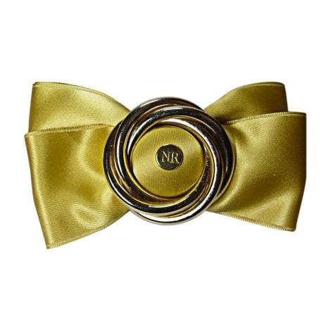 Bijoux de tête NINA RICCI Doré, bronze, cuivre