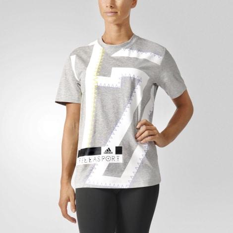 Top, tee-shirt STELLA MCCARTNEY Gris, anthracite
