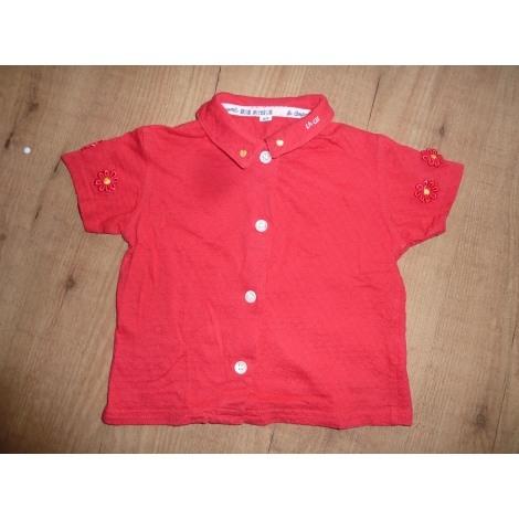 Top, tee shirt LA COMPAGNIE DES PETITS Rouge, bordeaux