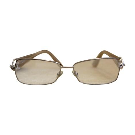 Monture de lunettes GUCCI Hysteria Doré, bronze, cuivre