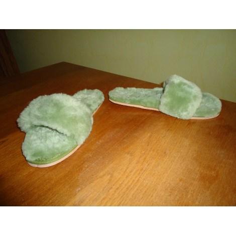 Chaussons & pantoufles MARQUE INCONNUE Vert
