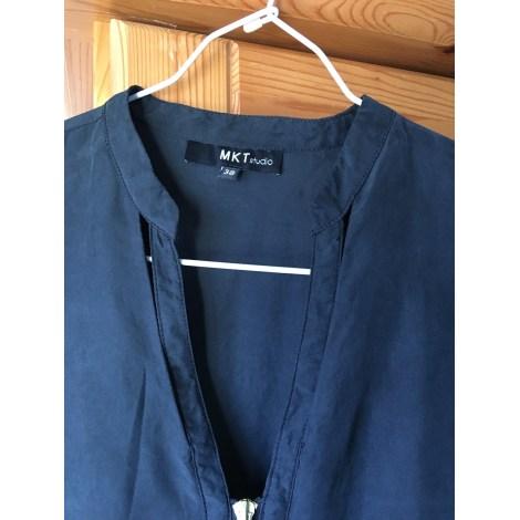 Robe courte MKT Bleu, bleu marine, bleu turquoise