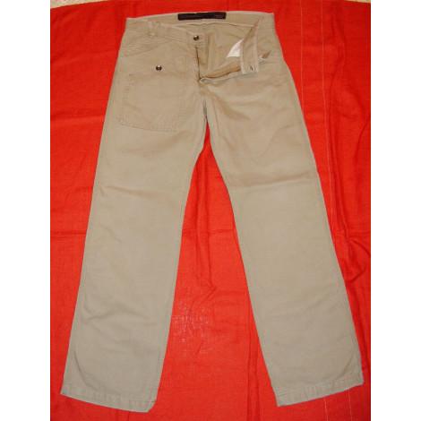 Pantalon large CHEVIGNON Beige, camel