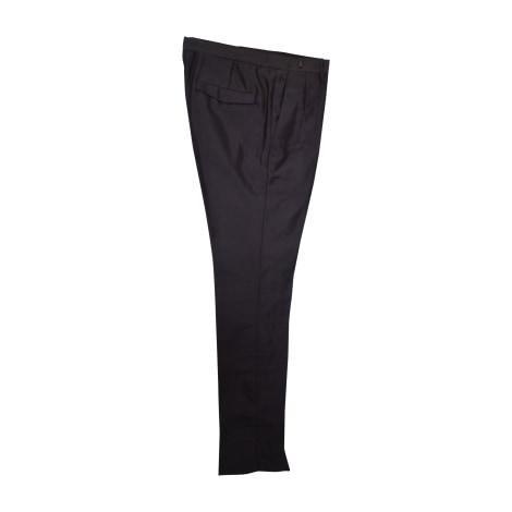 Pantalon slim PRADA Noir