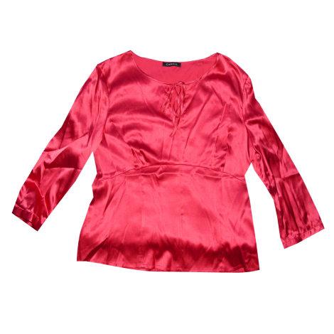 Chemise CAROLL Rouge, bordeaux