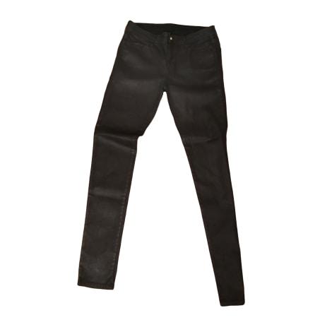 Pantalon droit GEORGES RECH Noir