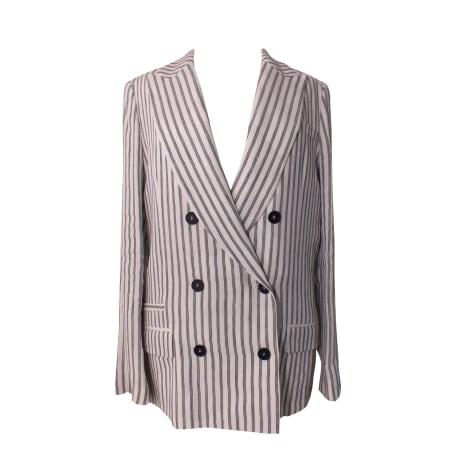 Blazer, veste tailleur GERARD DAREL Blanc, blanc cassé, écru