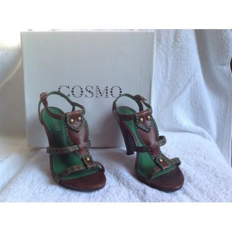 Sandales à talons COSMOS Marron