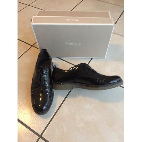 Chaussures à lacets  TAMARIS Noir