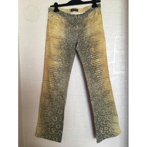 Pantalon large ROBERTO CAVALLI Imprimés animaliers