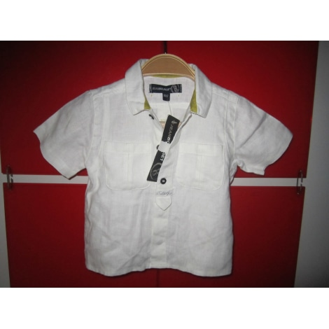 Blouse, Short-sleeved Shirt JEAN BOURGET White, off-white, ecru