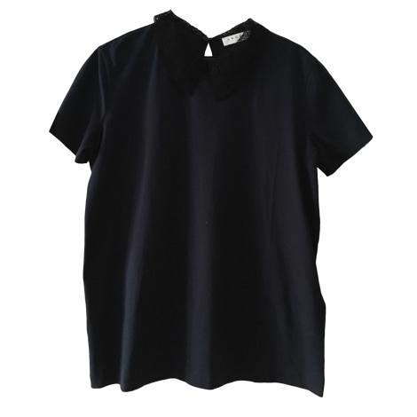 Top, tee-shirt SANDRO Bleu, bleu marine, bleu turquoise