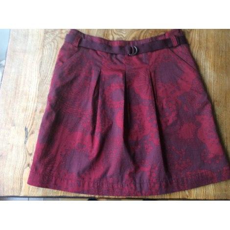 Jupe courte H&M Rouge, bordeaux