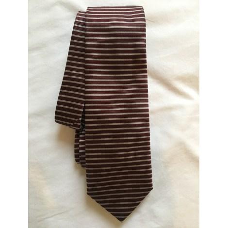 Cravate ARMANI Rouge, bordeaux