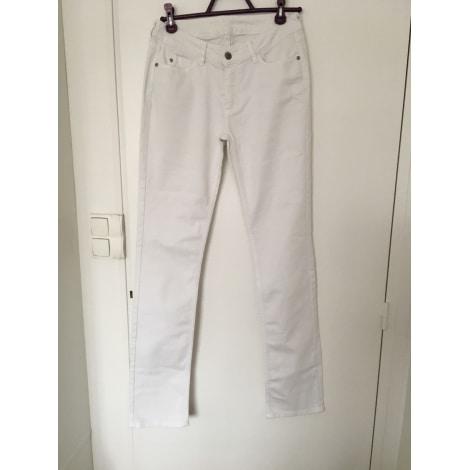 Jeans slim COMPTOIR DES COTONNIERS Blanc, blanc cassé, écru