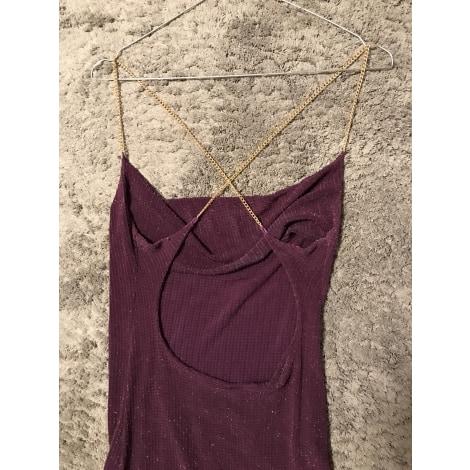 Robe courte E.LOCO Violet, mauve, lavande