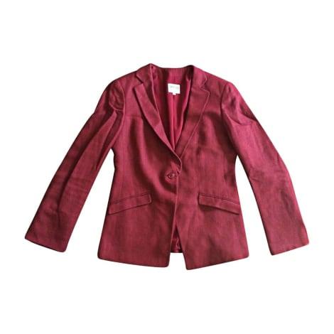 Blazer, veste tailleur ARMANI Rouge, bordeaux