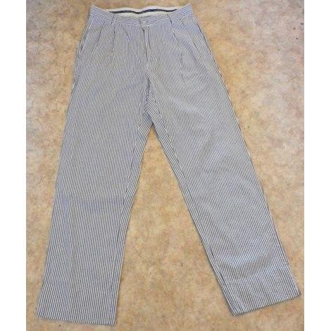 Pantalon droit RALPH LAUREN Blanc, blanc cassé, écru