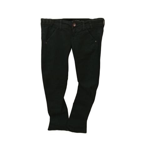 Jeans droit GUESS Vert